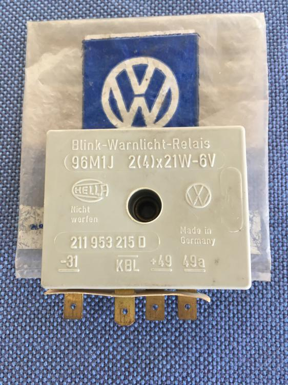 VW Flasher Relay
