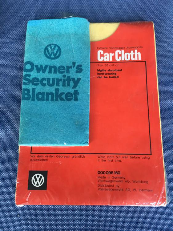 VW Security blanket