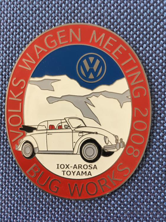 VW Meeting2008 Badge